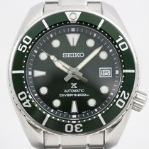 Seiko Prospex Steel 42mm Green
