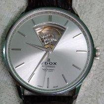 Edox Les Vauberts Acero 43mm Plata Sin cifras