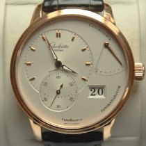 Glashütte Original PanoReserve Rose gold 40mm Silver No numerals
