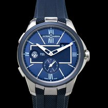 Ulysse Nardin Executive Dual Time 243-20-3/43 New Steel 42mm Automatic