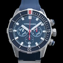 Ulysse Nardin Diver Chronograph Titanium Blue United States of America, California, Burlingame