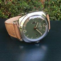 沛納海 Radiomir GMT 鋼 45mm 綠色