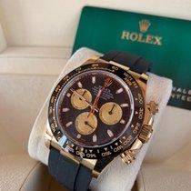 Rolex Daytona Or jaune 40mm Noir Sans chiffres
