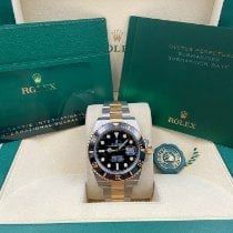 Rolex Submariner Date Gold/Steel 41mm Black United States of America, New York, New York