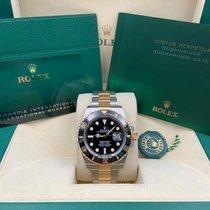 Rolex Submariner Date Gold/Steel 41mm Black United States of America, New York, New York