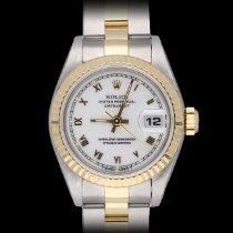 Rolex Lady-Datejust Acero y oro 26mm Blanco Sin cifras España, Barcelona