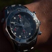 Omega Seamaster Diver 300 M Steel Blue No numerals