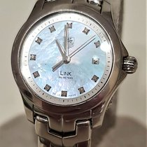 TAG Heuer Link Lady Staal 27mm Parelmoer
