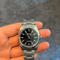 Rolex Oyster Perpetual 39 Steel 39mm Black No numerals United States of America, Texas, San Antonio