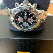 Breitling Super Avenger II Steel 48mm Black No numerals United States of America, New York, Hollis