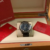Omega De Ville Co-Axial Steel 42mm Blue