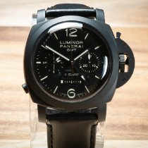 Panerai Luminor 1950 8 Days Chrono Monopulsante GMT PAM00317 2009 pre-owned