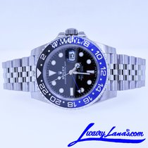 Rolex GMT-Master II Steel 40mm Black No numerals United States of America, New York, Massapequa