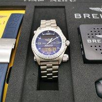Breitling Emergency Титан 43mm Черный Aрабские