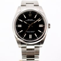 Rolex Oyster Perpetual Steel 41mm Black No numerals United Kingdom, London