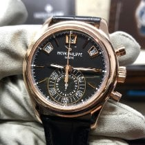 Patek Philippe Annual Calendar Chronograph Rose gold Black United States of America, New York, New York