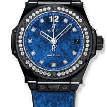 Hublot Big Bang Sang Bleu Керамика 39mm Синий Aрабские