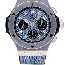 Hublot Big Bang Jeans nuevo Automático Cronógrafo Reloj con estuche y documentos originales 301.SX.2770.NR.JEANS16