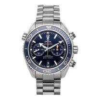 Omega 232.90.46.51.03.001 Titane Seamaster Planet Ocean Chronograph 45.5mm occasion
