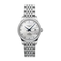 Longines Record Steel 30mm White No numerals United States of America, Pennsylvania, Bala Cynwyd