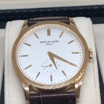 Patek Philippe Calatrava Yellow gold 37mm White No numerals UAE, Abu Dhabi
