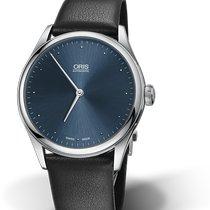 Oris Classic Steel 40mm Blue