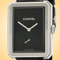 Chanel new Manual winding Small seconds Guilloché dial 37mm Steel Sapphire crystal