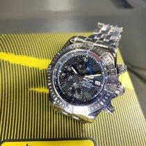 Breitling Chronomat Evolution Acero 44mm Negro Sin cifras