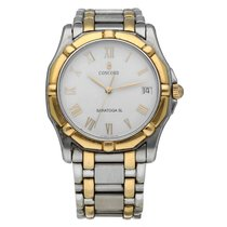 Concord Saratoga Gold/Steel 35mm White Roman numerals United States of America, Florida, Sarasota