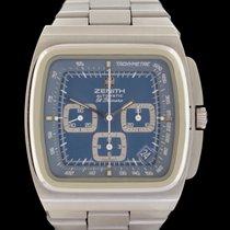 Zenith 01-0200-415 Stahl 1974 El Primero Chronograph 40mm gebraucht Deutschland, Frankfurt am Main