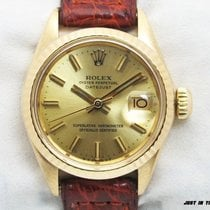 Rolex Oyster Perpetual Lady Date Oro amarillo 26mm Sin cifras