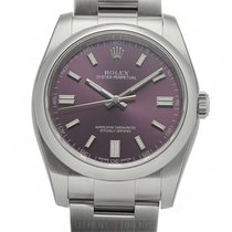 Rolex Oyster Perpetual 36 Steel 36mm Red United States of America, New York, New York