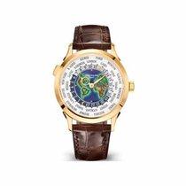 Patek Philippe 5231J-001 Ouro amarelo World Time 38.5mm novo