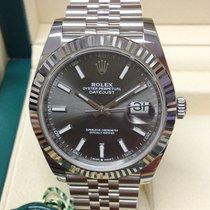 Rolex Datejust White gold 41mm Grey No numerals United Kingdom, Wilmslow