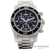 Breitling Superocean Chronograph M2000 Staal 46mm Zwart Nederland, Purmerend