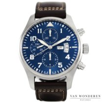 IWC Pilot Chronograph Staal 43mm Blauw Nederland, Purmerend