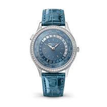 Patek Philippe World Time White gold 36mm Blue