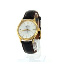 Jaeger-LeCoultre Master Control Date Yellow gold 34mm Silver Arabic numerals
