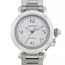 Cartier Pasha C Acier 35mm Argent Arabes France, Paris