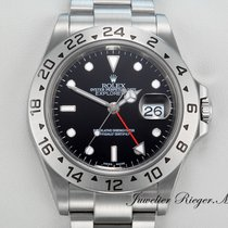 Rolex Explorer II Stål 40mm Sort Ingen tal