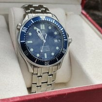 Omega Seamaster Diver 300 M Steel 41mm Blue No numerals United States of America, New Jersey, Upper Saddle River