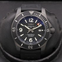 Breitling Superocean 44 pre-owned 46mm Black Rubber