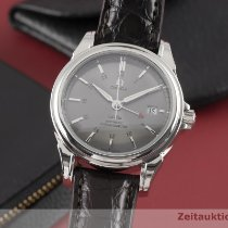 Omega De Ville Co-Axial Steel 38.5mm Grey