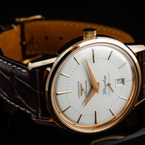 Longines Flagship Heritage Rose gold 38mm White No numerals