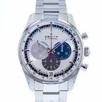 Zenith El Primero 36'000 VpH Steel 42mm Silver United States of America, Georgia, Atlanta