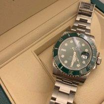 Rolex Submariner Date Steel 40mm Green No numerals Australia