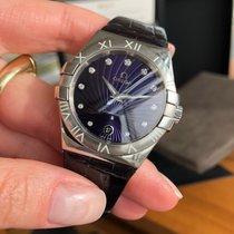 Omega Constellation Quartz Acero 35mm Violeta Romanos