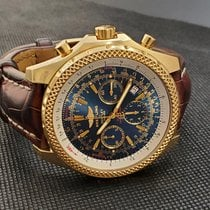 Breitling Bentley Motors Yellow gold 48mm Blue No numerals United Kingdom, London