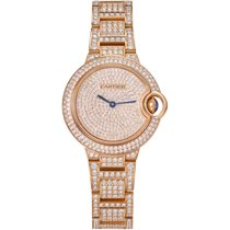Cartier Rose gold 33mm Automatic WJBB0044 new