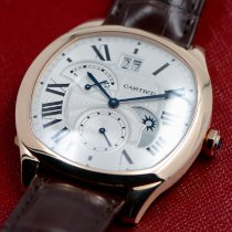 Cartier Drive de Cartier Rose gold 40mm Silver Roman numerals United States of America, Texas, Houston